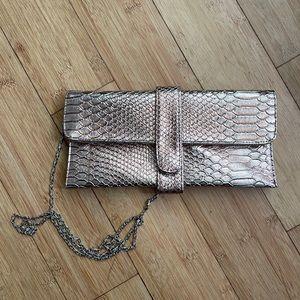 Rose Gold Clutch Purse Bag